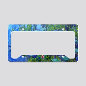 Bags Monet Lilies License Plate Holder