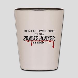 Zombie Hunter - Dental Hygienist Shot Glass
