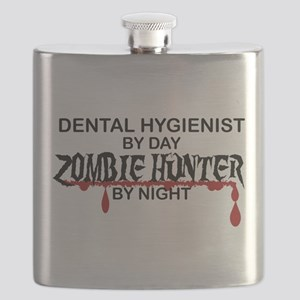 Zombie Hunter - Dental Hygienist Flask