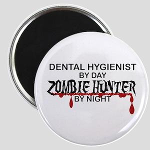 Zombie Hunter - Dental Hygienist Magnet