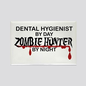 Zombie Hunter - Dental Hygienist Rectangle Magnet