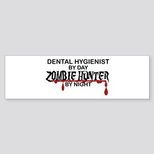 Zombie Hunter - Dental Hygienist Sticker (Bumper)