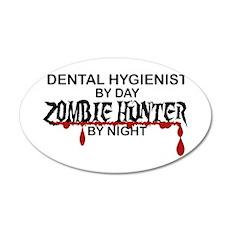 Zombie Hunter - Dental Hygienist Wall Decal