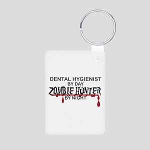 Zombie Hunter - Dental Hygienist Aluminum Photo Ke