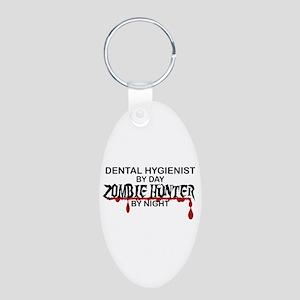 Zombie Hunter - Dental Hygienist Aluminum Oval Key