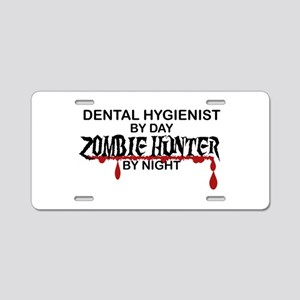 Zombie Hunter - Dental Hygienist Aluminum License