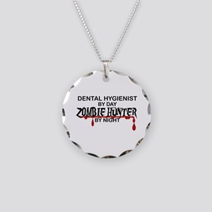 Zombie Hunter - Dental Hygienist Necklace Circle C