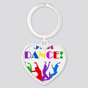 Just Dance dark Heart Keychain