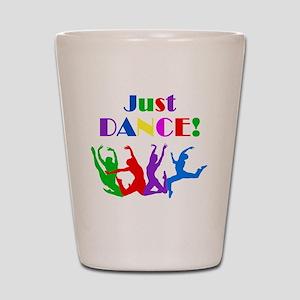 Just Dance dark Shot Glass