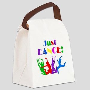 Just Dance dark Canvas Lunch Bag