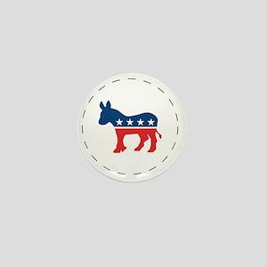 Democrat Logo Mini Button