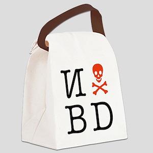 N skull BD Canvas Lunch Bag