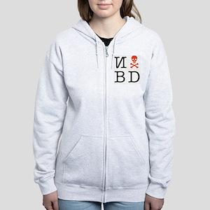 N skull BD Women's Zip Hoodie