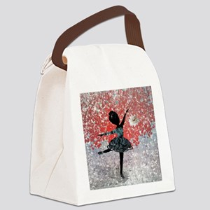 fleur_neige_lore_m_cafepress Canvas Lunch Bag
