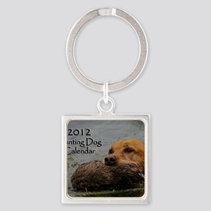 11x8 hunting cover Square Keychain