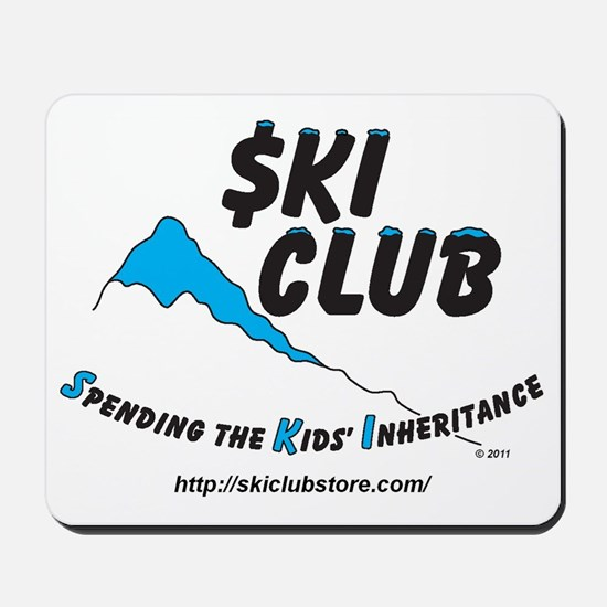 $KI Club LOGO - cropped Mousepad