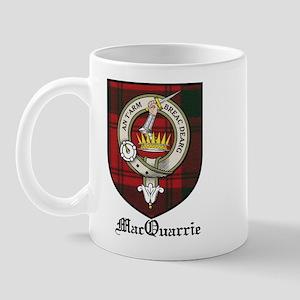 MacQuarrie Clan Crest Tartan Mug