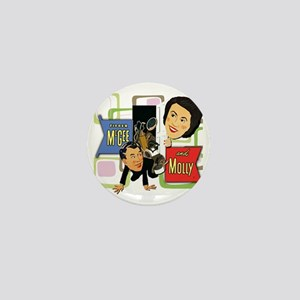 Fibber McGee And Molly Mini Button