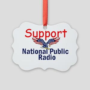 NPR Support Picture Ornament