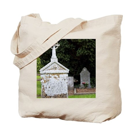 12th Century Cemetary at Jerpoint Abbey, Tote Bag