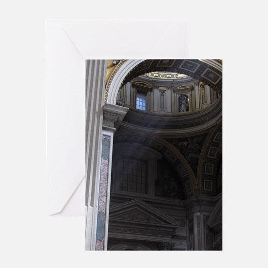 Italy; Pieta statue by Michelangelo  Greeting Card