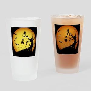 halloween night 2 Drinking Glass
