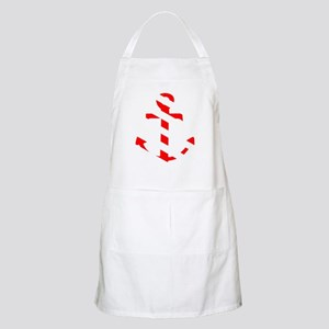 Anchor candy stripe light Apron