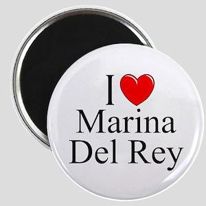 """""""I Love Marina Del Rey"""" Magnet"""