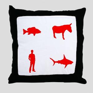 evolution2 Throw Pillow