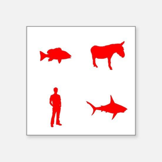 "evolution2 Square Sticker 3"" x 3"""