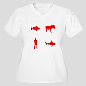 evolution2 Women's Plus Size V-Neck T-Shirt