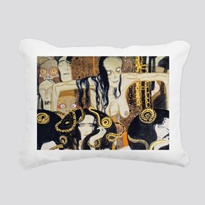 Bags Klimt Frieze1 Rectangular Canvas Pillow