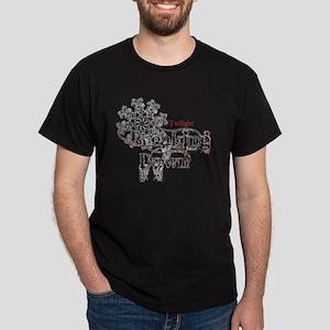 breaking dawn snowflake for white by  Dark T-Shirt