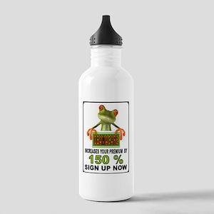 OBAMA GEKKO Water Bottle