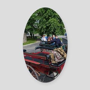 Ireland, County Kerry, Killarney,  Oval Car Magnet