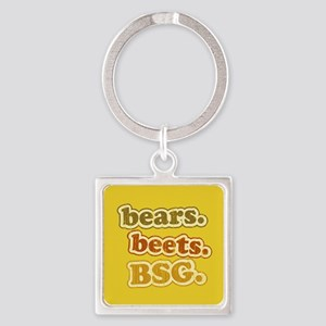 bearsbeets_icon Square Keychain