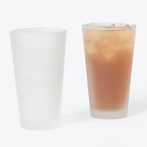 bearsbeets_dark Drinking Glass