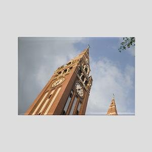 SZEGED: The Votive Church (comple Rectangle Magnet