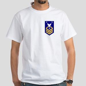 USCG Reserve TCCM<BR> White T-Shirt