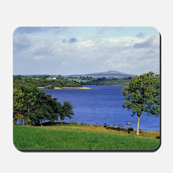 Is one of the largest lakes in Northern  Mousepad