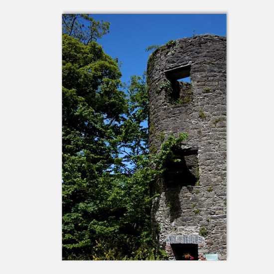 Blarney Castle ruin in th Postcards (Package of 8)