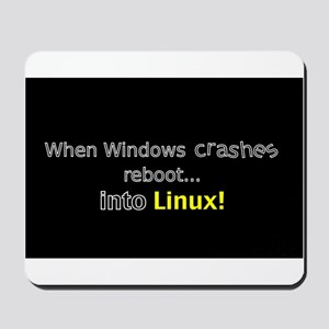 Reboot to Linux Mousepad