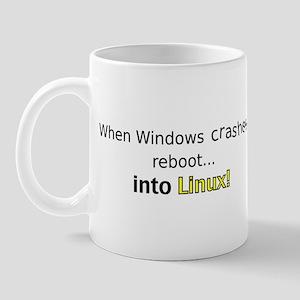 Reboot to Linux Mug