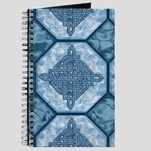 Celtic Diamond Aqua Journal