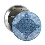 Celtic Diamond Aqua Button