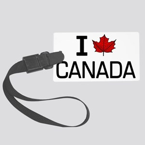 I leaf canada Large Luggage Tag