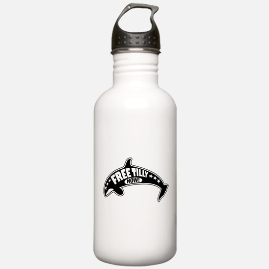 Free Tilly Now! Water Bottle