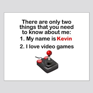 Two Things Video Games Poster Design