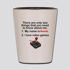 Two Things Video Games Shot Glass