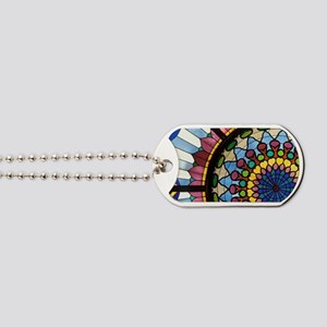 Museum of Applied Arts. Stained glass win Dog Tags